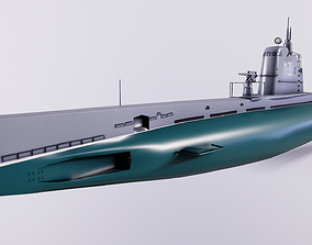 3D asset Submarines type M XII series - Baby