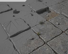 Stone Floor 3D asset