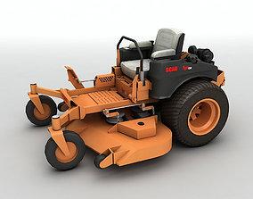 SCAG Tiger Cub Industrial Riding Mower 3D