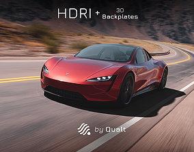 1 HDRI - Automotive 012 3D model