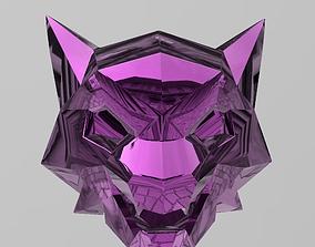 Neon Wolf 3D print model