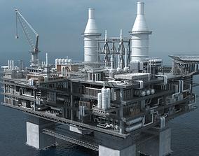 3D valve oil platform