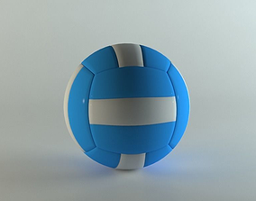 Realistic Volleyball 3D model