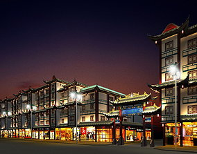 3D China street 002