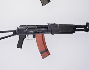 3D model low-poly AK105