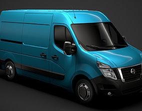 3D Nissan NV 400 L2H2 Van 2020