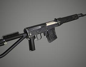 SVD-S sniper 3D asset