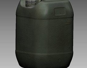 25 Litre Plastic Water Container 3D