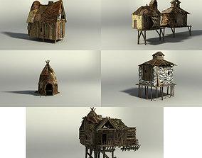3D asset Shacks part 1