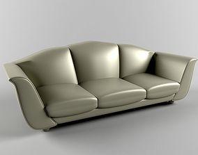 Light Green Comfy Sofa 3D