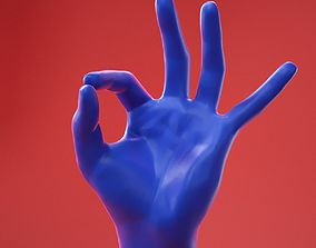 3D Male Hand 30