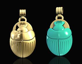 3D printable model Egyptian Scarab pendant