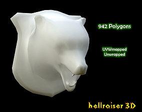 3D model Bear Head