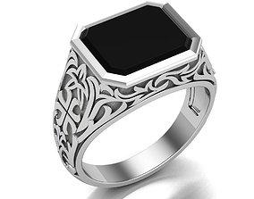 3D print model Finger lux Mens ring