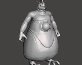 Rage Shenron giant form 3D Model