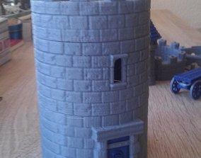 3D print model Modular Watchtower - WarGames - Terrain - 1