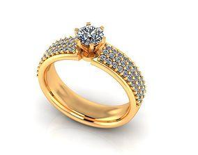 3D print model tiger Wedding Ring R008