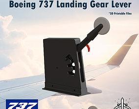 3D print model Boeing 737 Landing Gear Lever for