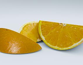 3D asset Orange slice