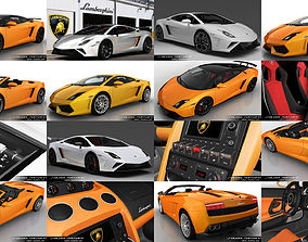3D Lamborghini Gallardo Mega Collection