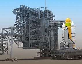 Shuttle Launch Pad 3D