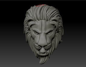 3D printable model LION RING indu