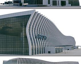 Airport Building 3D