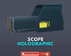Weapon - Scope - 02 - Holographic 3D model