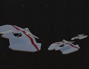 3D asset Spaceship - Fighter