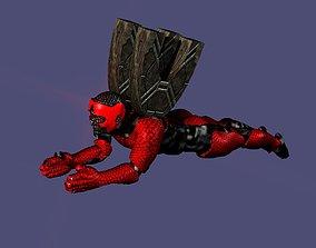 3D model Roboman Spaceship