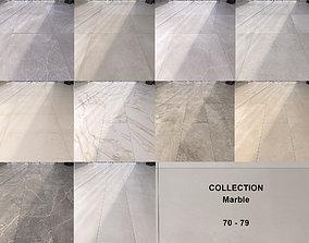 3D model Marble Floor Set Collection 70 - 79