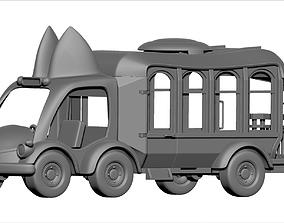 wheel Toy Truck 3d Print Model