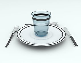 spoon 3D Plate Set