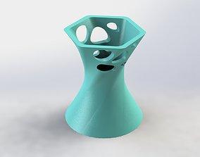 Decorative Flower Pot 25 3D print model