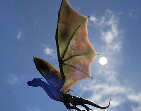 Wyvern esc Dragon 3D asset