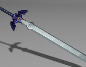 3D model VR / AR ready Master Sword