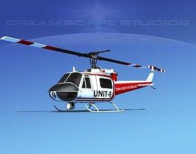 Bell 204 Chippewa Rescue 3D