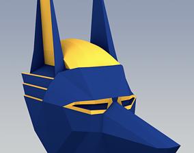 3D model Jackal mask