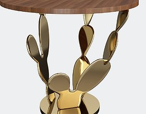 3D asset Cactus CoffeeTable wood Copie