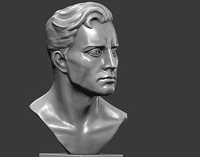 Bust of men 3D print model