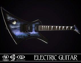 Electric guitar Jackson Kelly skin1 3D model