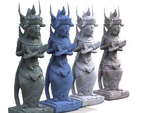 3D Tai ancient Statue