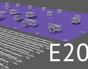 Prolyte E20V square trusses 3D