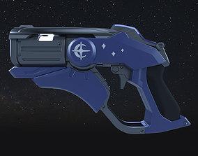 Overwatch Angela Ziegler Mercy blaster 3D print model 3