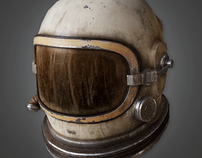 3D model HAT - Astronaut Cosmonaut Helmet - PBR Game Ready