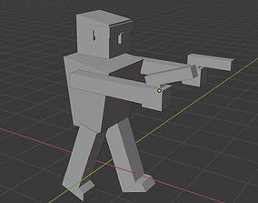 Two Guns Shooter 3D model