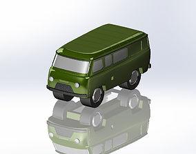 3D print model UAZ-452