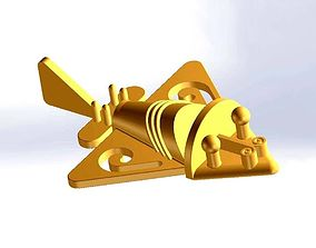 Inca gold plane 3D printable model