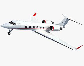 3D model Business Jet Aircraft