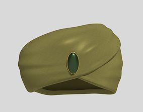 3D asset Arabic - Indian Turban - Crown